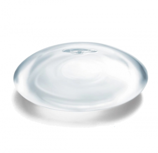 A MENTOR® smooth breast implant