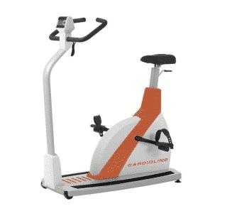 Un vélo d'exercice pour épreuve d'effort de la marque Cardioline