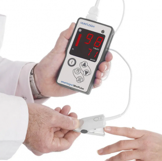 Pulsoximeter mit separatem Sensor der Marke Huntleigh Diagnostics