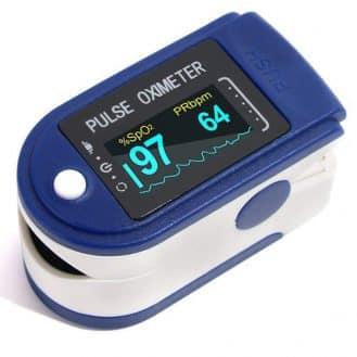 Como escolher um oxímetro de pulso