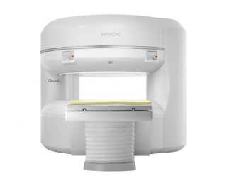 Sistema aberto de ressonância magnética da Hitachi Medical Systems